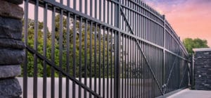 Antebellum gate