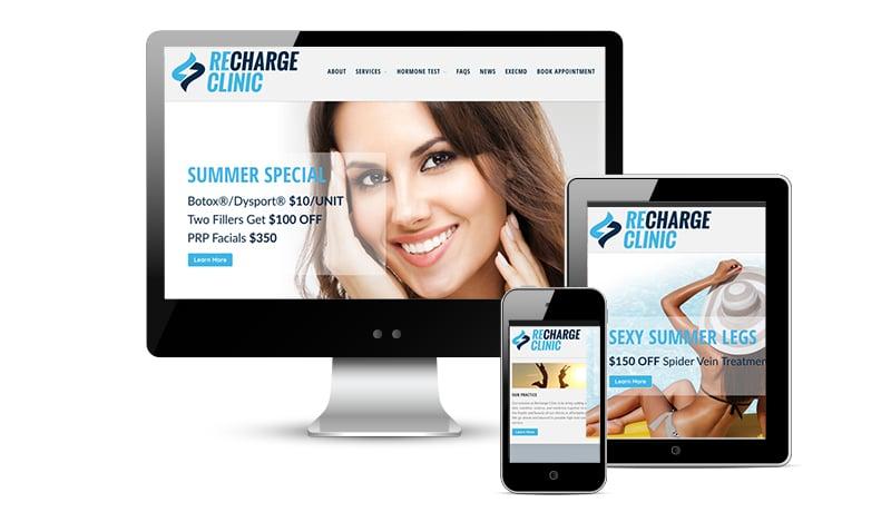Recharge web